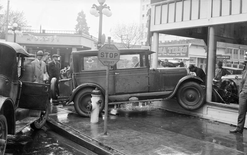 Автомобильная авария 1929 года