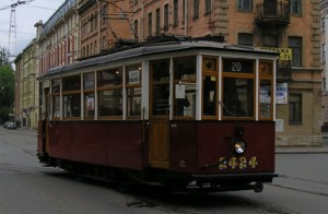 Галл трамвай 1920х