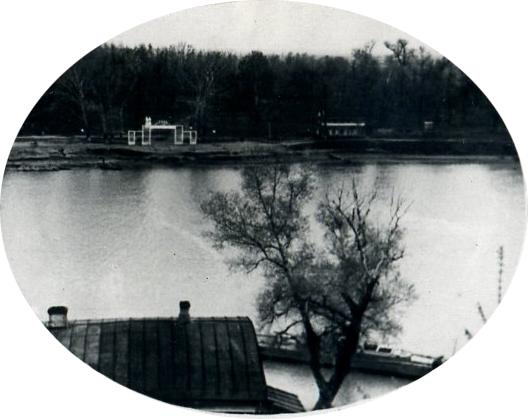 Разлив р.Урал, Оренбург, 1954 г.