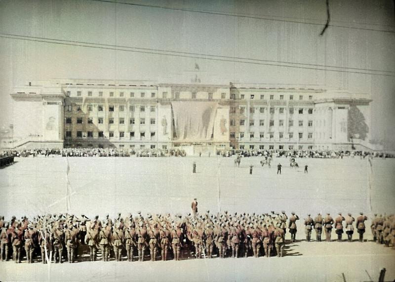 Оренбург, 1-е мая 1946 года.