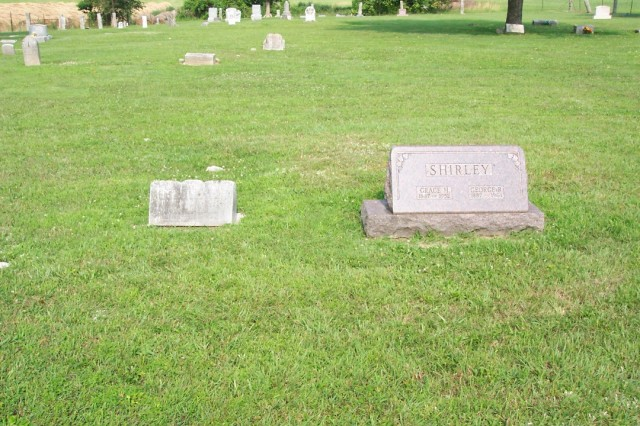 Grandparents' graves