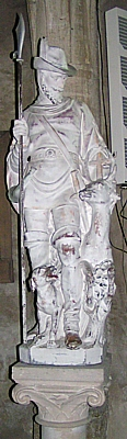 Statue of St. Hubert