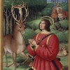 St. Hubert with Stag and Hounds