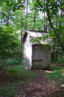 Schoolhouse privy