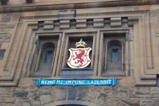 Motto of the Scots Monarchy, Edinburgh Castle