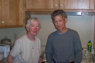 Aunt Clarice and Barbara