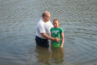 Brooke's baptism