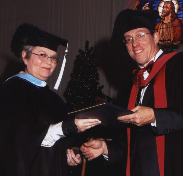 Deanne's graduation