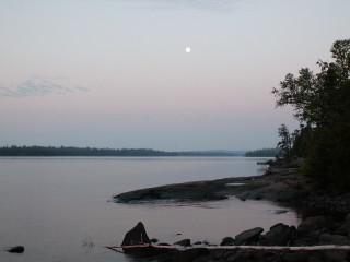 Westering Moon