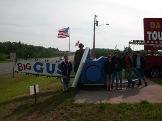 World's Largest Working Chain Saw