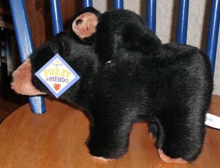 Bear-back rider