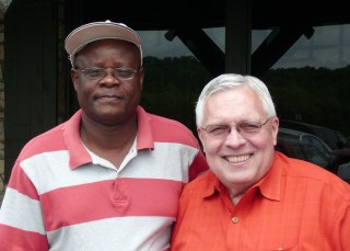 James Mwoho and Jim Hertel
