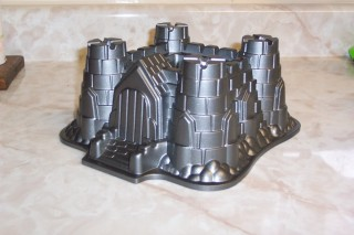 Castle Bundt Cake Pan