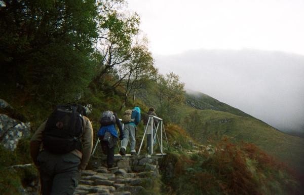 Bridge on the Mountain Track