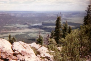 View from Tooth Ridge, Philmont