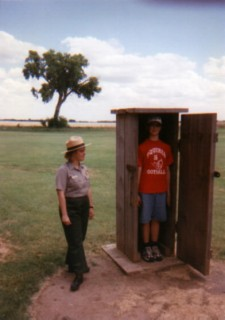 Punishment Box, Ft. Larned, KS