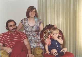 Young parents, c. 1976