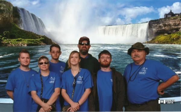 Crew 119 at Niagara Falls