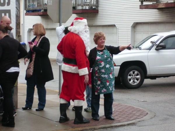 Telling Santa where to go