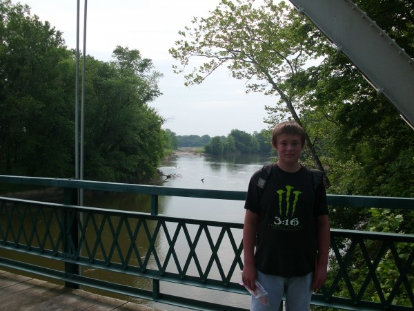 Logan on the Bridge