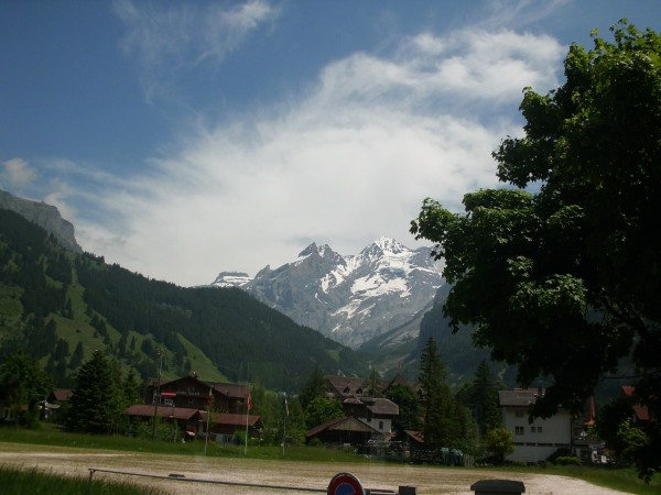 Oeschital from the train station