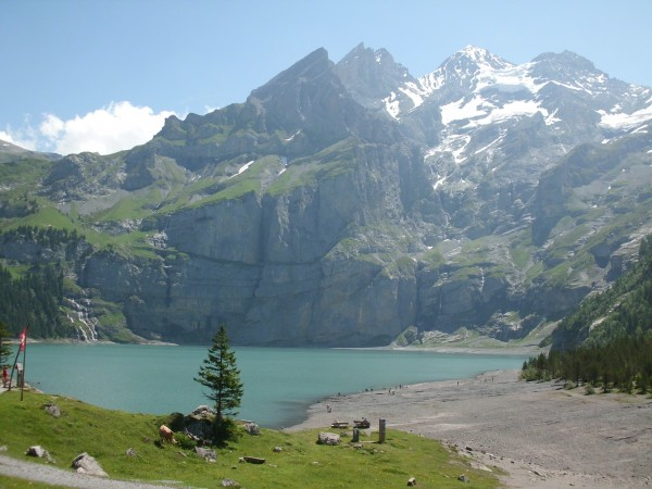 Oeschinnensee again