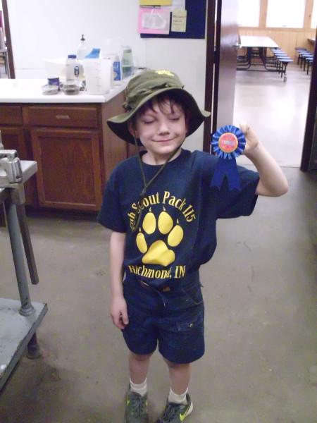 Prize-winning Grandcub