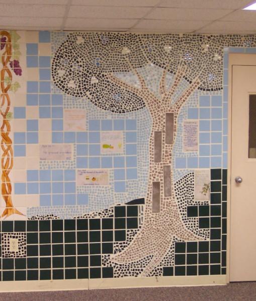 mosaic detail, right