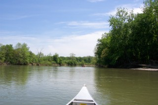 A gorgeous day on the river