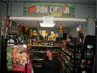 Behind the Iron Curtain at Sun Dog Liquors