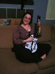 Jess and Guitar Hero