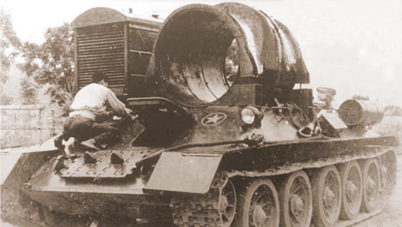 Загадка, про танк, неисчерпаемый как атом
