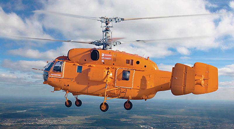 Вертолет соосной схемы Ка-32