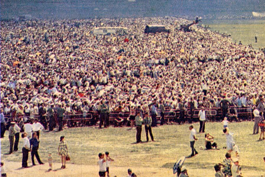 1976 год. Киев. Очередь за колбасой ChW1