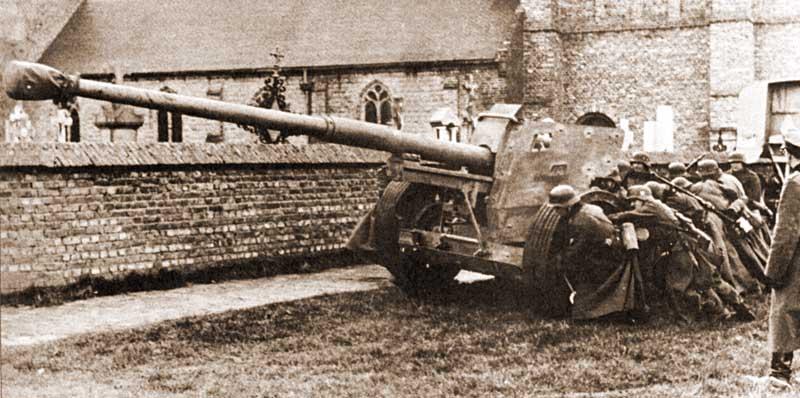 Т-34 как медный таз германской противотанковой артиллерии PAK1
