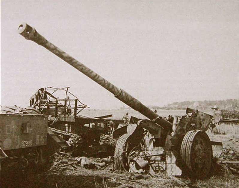 Т-34 как медный таз германской противотанковой артиллерии PAK2