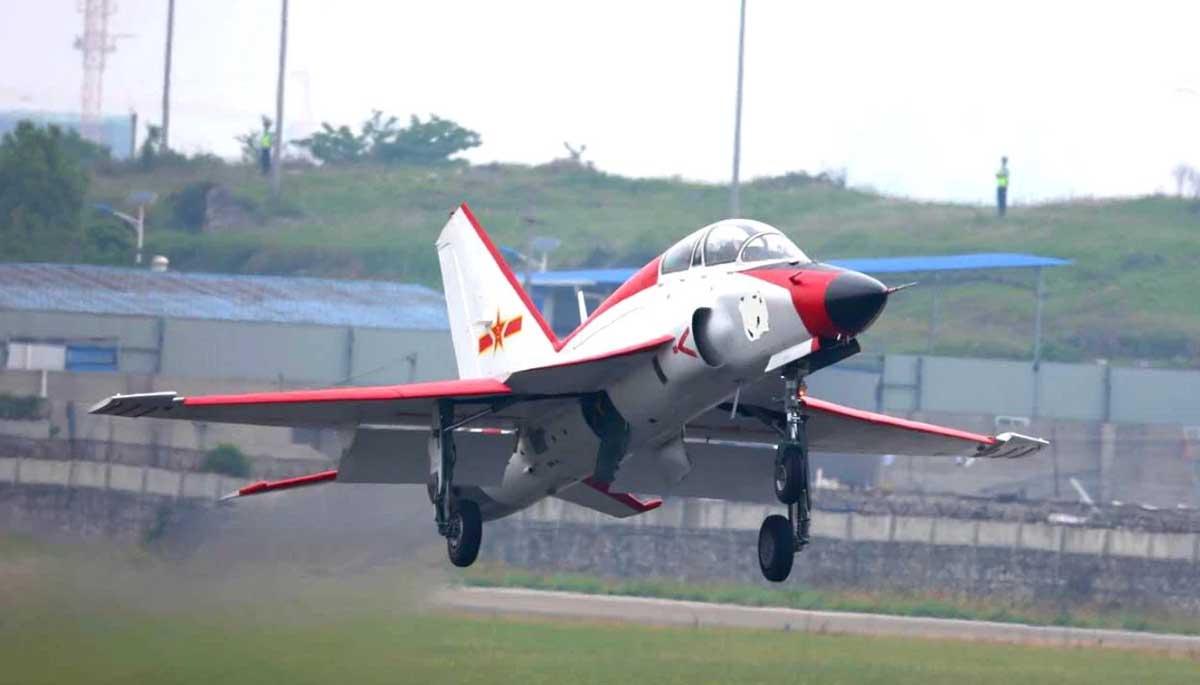Китайцы продолжают попытки посадить МиГ-21 на палубу... JL9_0