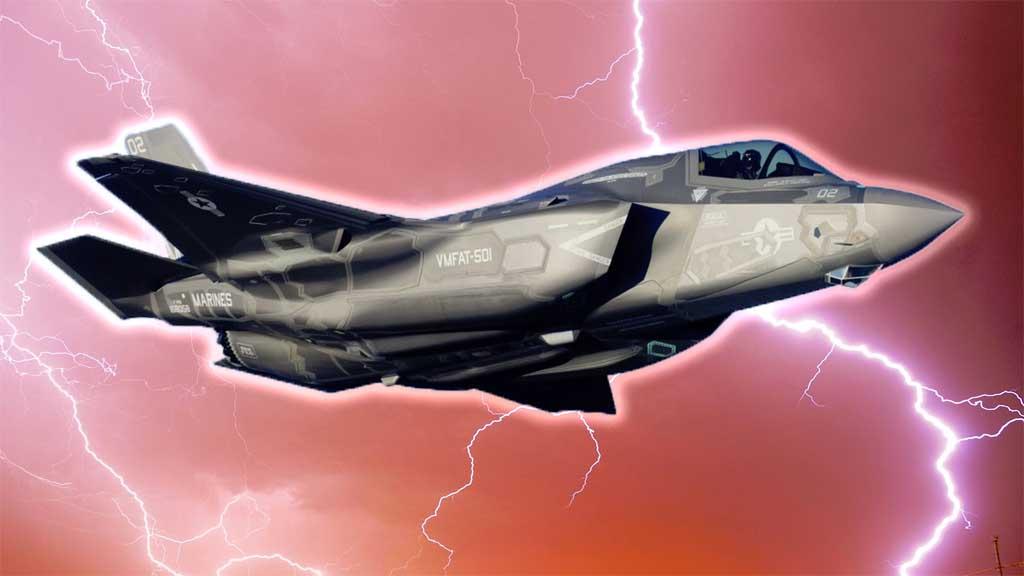 ...Чтоб дети грома не боялись! F-35A