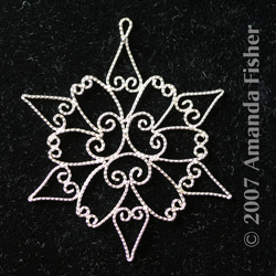 Filigree Snowflake: Star
