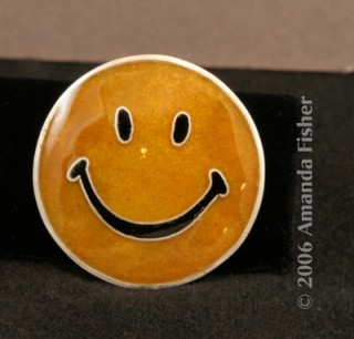 Cloisonne smiley
