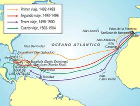 mapa de lo viajes