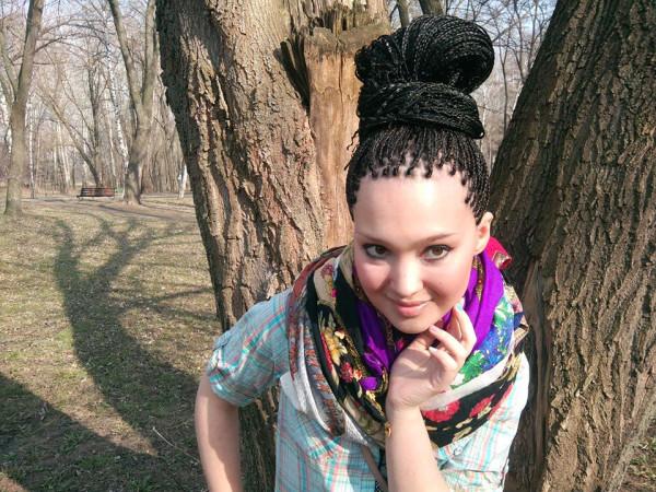 Прическа зизи - самые интересные укладки с зизи косичками - фото 50
