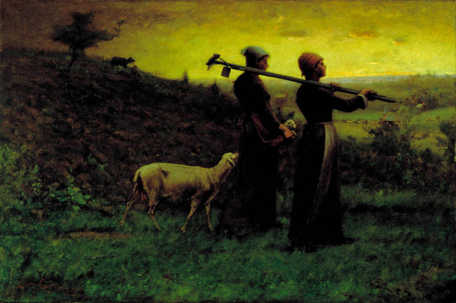Elliot Dangerfield - Bringing Home the Newborn Lamb
