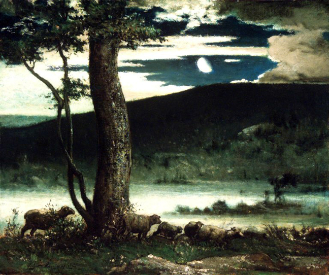 Elliott_Daingerfield - Brooklyn_Museum - Midnight_Moon