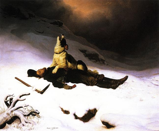 charles christian nahl dead miner