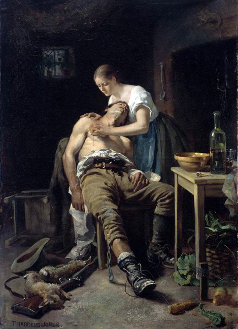 wounded poacher