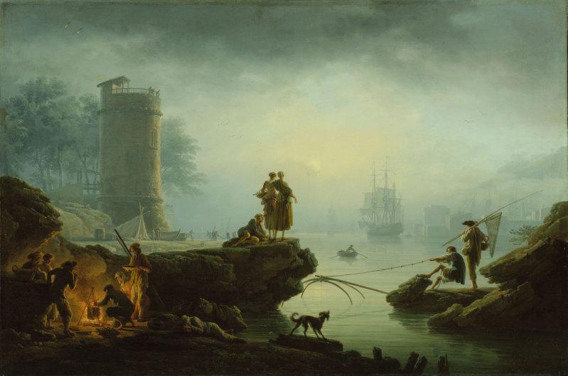 claude joseph vernet morning 1760