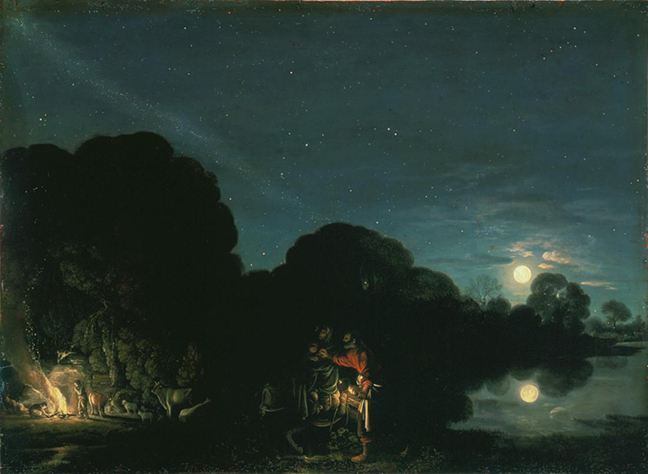 Adam Elsheimer Flight into Egypt 1609 1