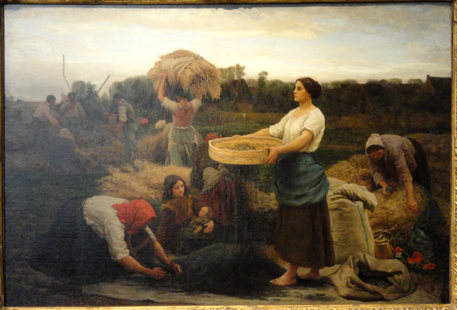 The_Colva_(Harvesting_Rapeseed)_by_Jules_Adolph_Aime_Louis_Breton,_1860