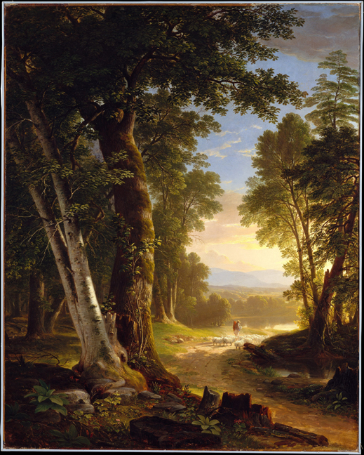 Asher_Durand_-_The_Beeches 1